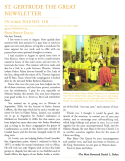 St. Gertrude the Great Newsletter 118