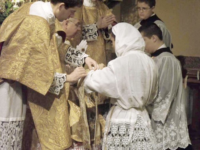 Rev. Mr. Vili Lehtoranta is ordained to the subdiaconate.