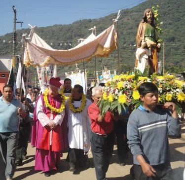 Bp. Dolan in Mexico