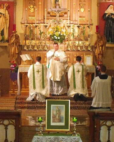 St. Patrick's Day Solemn Mass