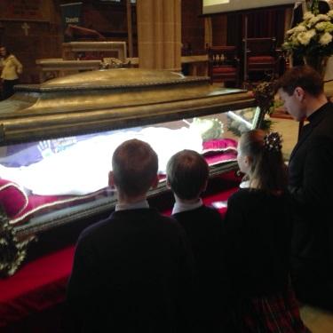Relics of St. Maria Goretti