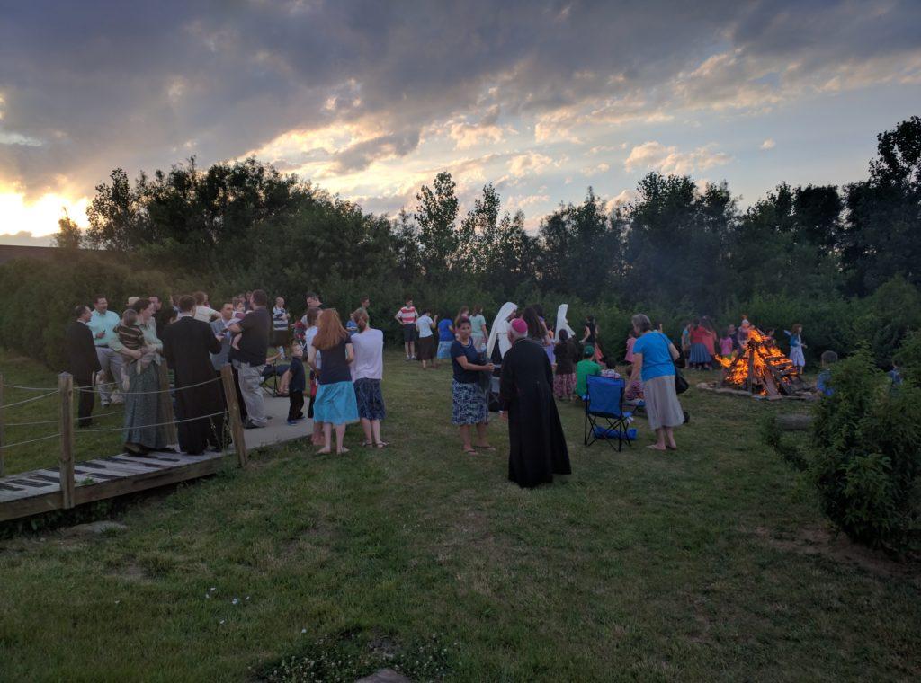 Bonfire for the Vigil of St. John
