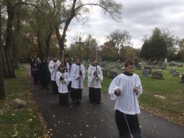Cemetery Procession