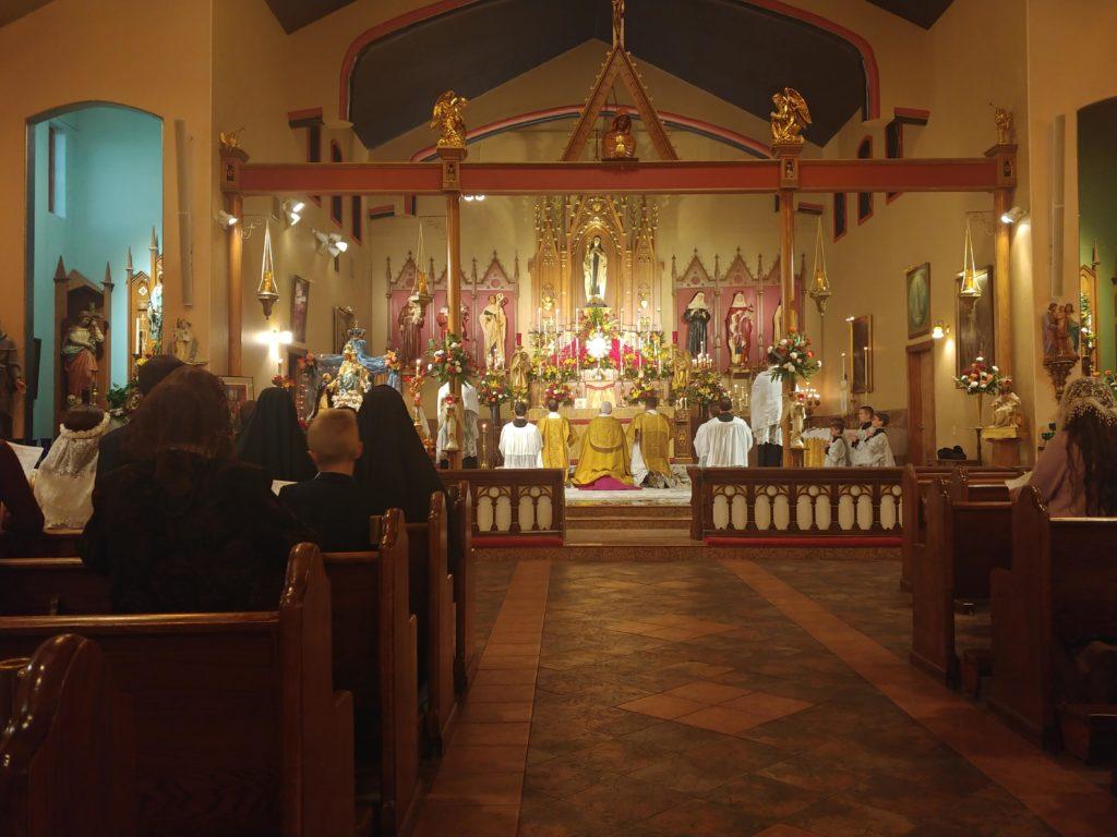 40 Hours Adoration